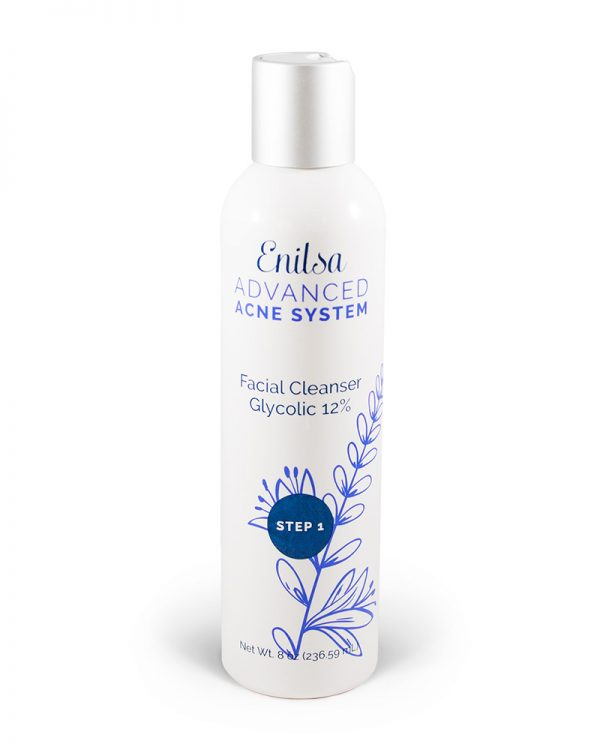 Enilsa Advanced Acne System -Facial Glycolic Cleanser 12%